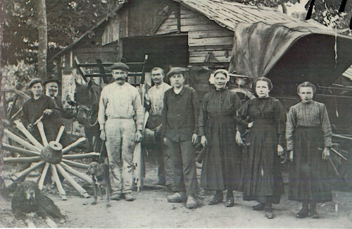 Le travail à Gourhel autrefois