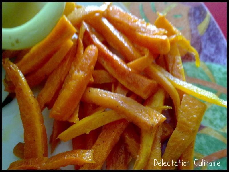 Frites de carottes ... un site à découvrir et une participation à un concours !!