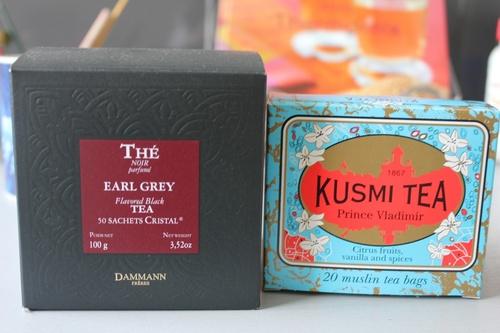 Boîte de thé