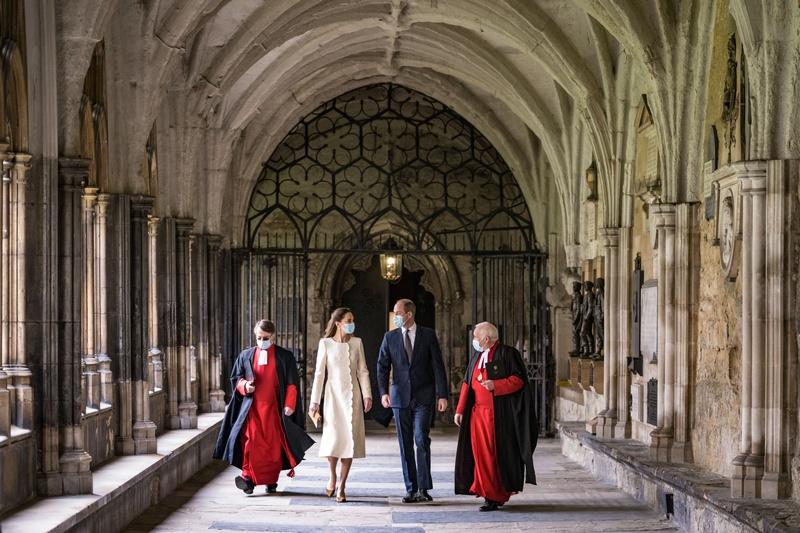 A l'abbaye de Westminster