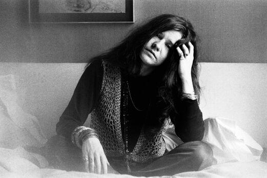 Janis Joplin à Londres en 1970