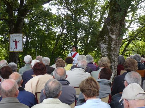 11 septembre 2103 , messe au Puech ( maison natale) de Montgesty
