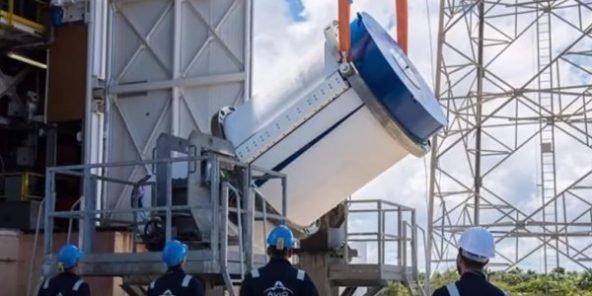 Le Maroc lance un satellite