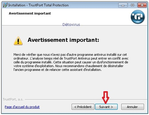 Trustport Total Security 2015 - Licence 1 an gratuit