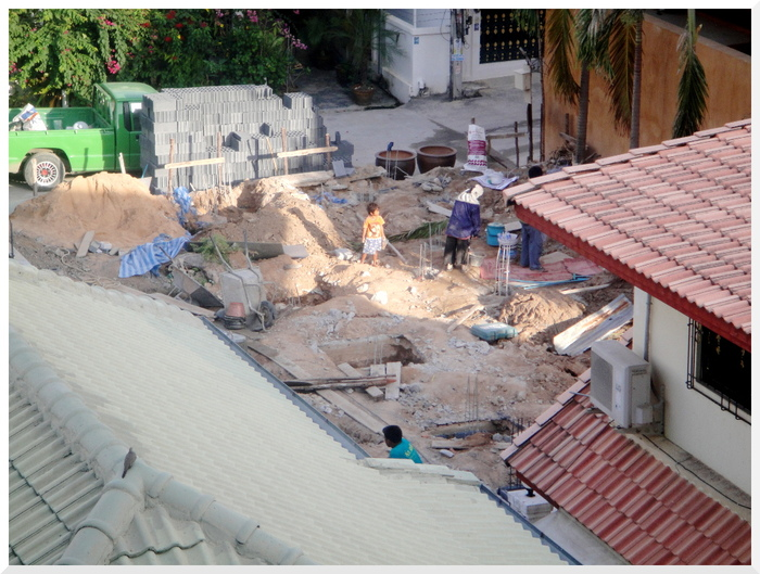 Photos de Thaïlande.  Constructions