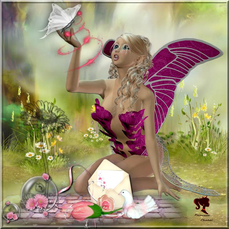 vos créations5pour le cluster gratuit bulle rose de printemps