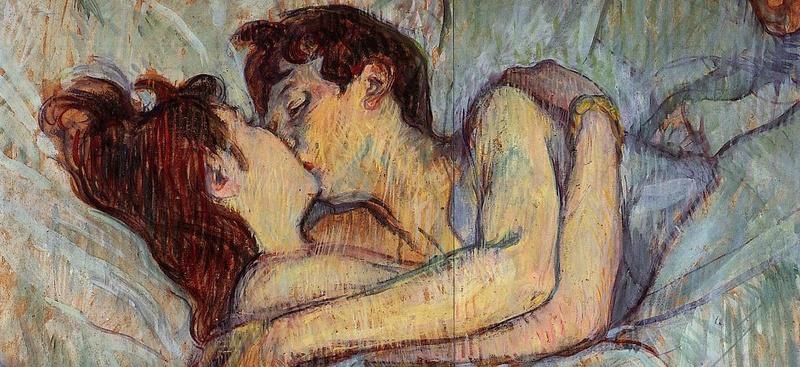 Le Baiser  de Toulouse-Lautrec