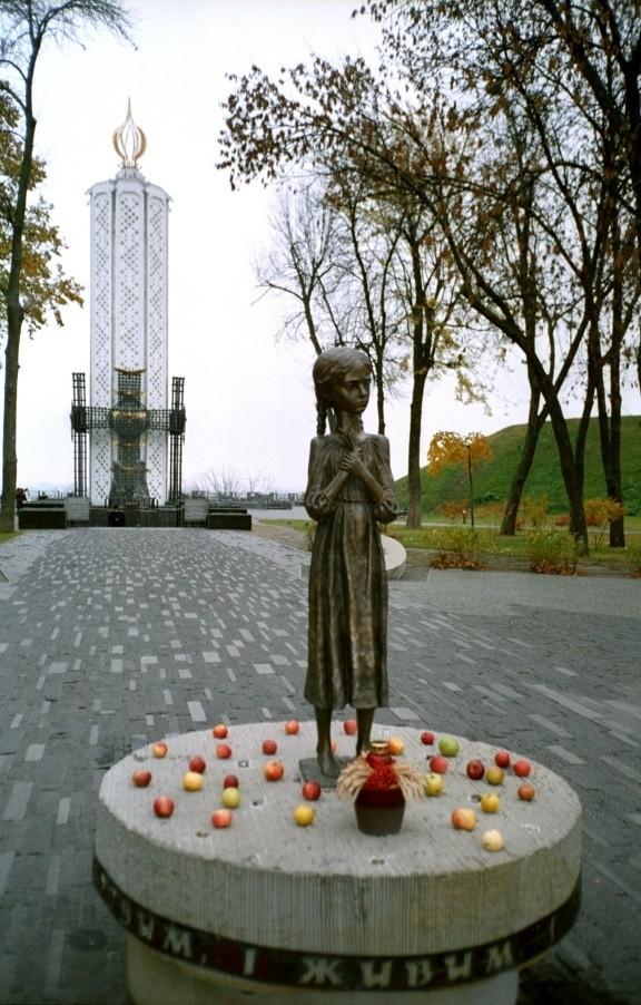 Monument aux victimes de l'Holodomor (Kiev, Ukraine)