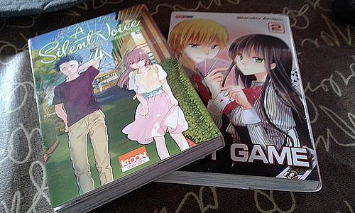 [09/2015] Achats mangas #7