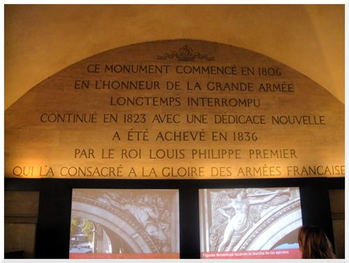 11.Visiter Paris L'Arc de Triomphe