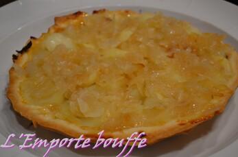 Tatin de pomme de terre au magret de cancard