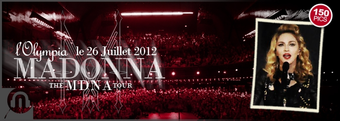 The MDNA Tour - Paris Olympia - 150 Pictures