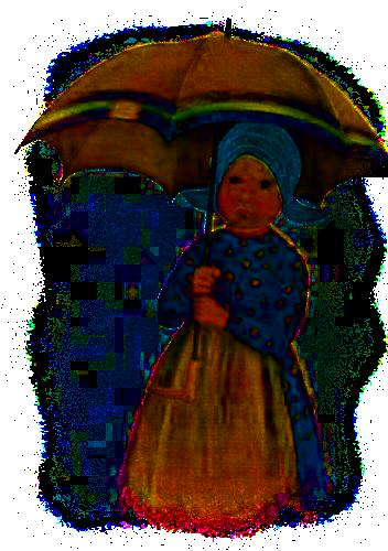 tube parapluie