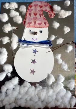 bonhomme de neige Noël électrique