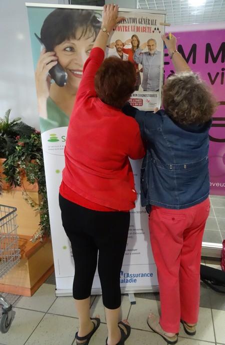 L'Association Française des Diabétiques a proposé aux Châtillonnais une journée-tests....