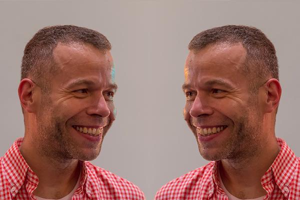 WOLFGANG TILLMANS EXPOSE À NÎMES Portrait bleu et jaune