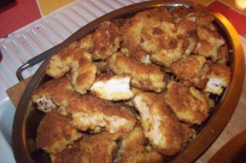 Acras de thon et panés de poulet