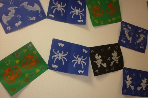 Citrouilles, fantômes, sorcières, araignée, chauve-souris ... pour Halloween