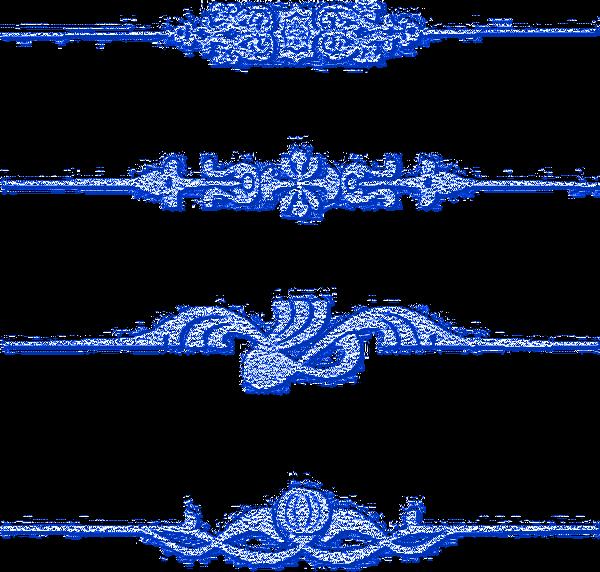 Dentelles bleues 11