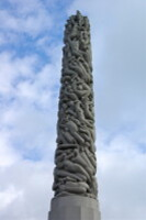 Oslo-Parc Frogner-monolithe