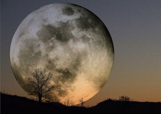 Vous êtes la lune et le soleil