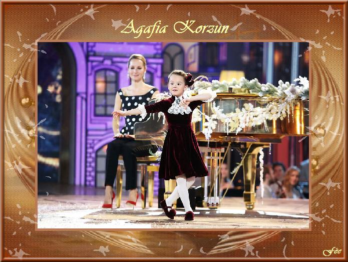 """Agafia korzun """"Petit talent deviendra grand"""""""