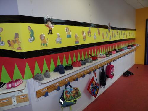 Notre école aux couleurs du cirque