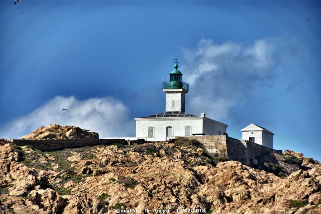 Phare de la Pietra - Île de la Pietra - Île-Rousse - Corse