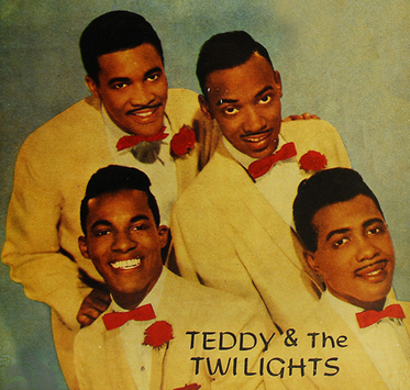 The Buddies (7)   aka Teddy & The Twilights (4) aka The Tiffanys (1)