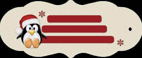 étiquette de noêl 4