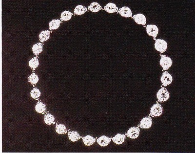 Collier en diamants de Charlotte, Duchesse de Ségovie