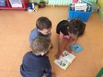 Les CP font la lecture au MS