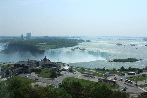 Marriott Niagara Falls hotel fallsview and spa