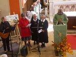 Echos de l'installation de nos Prêtres et Frère Franciscains-Trinitaires en ce Dimanche 18 Octobre 2020 en l'église de Veynes
