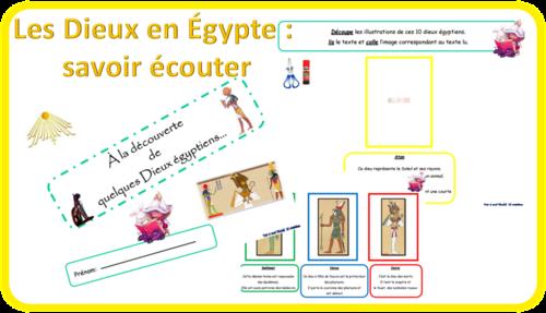 Les dieux en Egypte