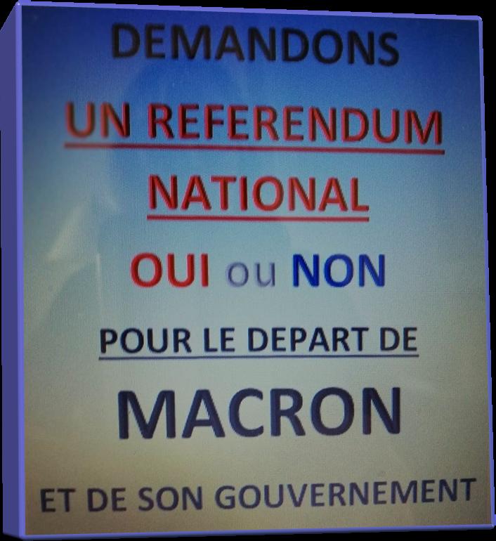 LE DEPART DE MACRON