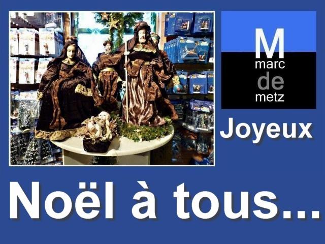 Voeux de Noël à Metz 25 12 09