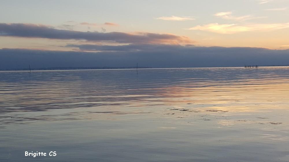 Féérie du coucher de soleil à Andernos...