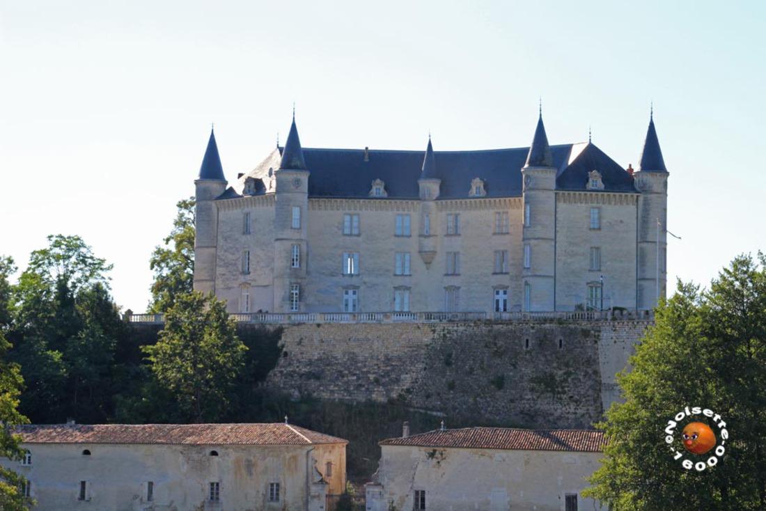 Château de la Rochandry à Mouthiers, vue de face