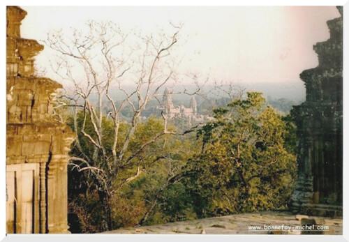 Voyage au Cambodge en 1993. Angkor Thom.