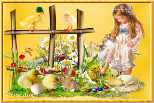 Défis déffilant Pâques