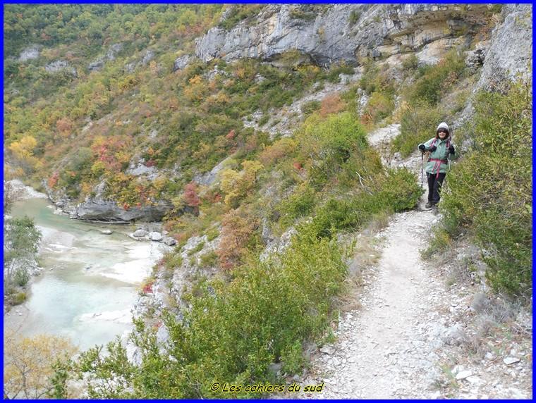 Hautes Alpes, les gorges de la Méouge