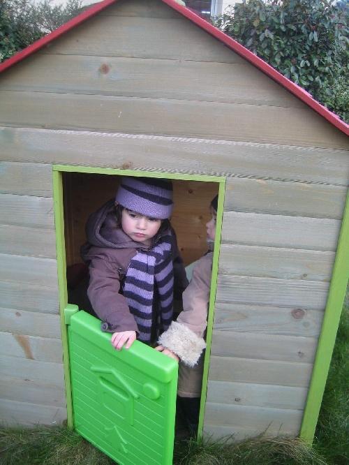 des photos de Clara pendant les vacances de février 2009