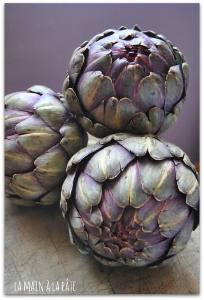 """Résultat de recherche d'images pour """"images superbes d'artichauts violets"""""""