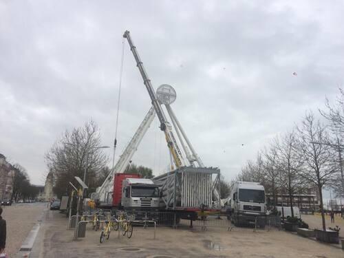 La Grande Roue de La Rochelle change de look