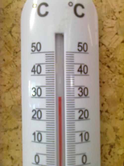 que calor !!