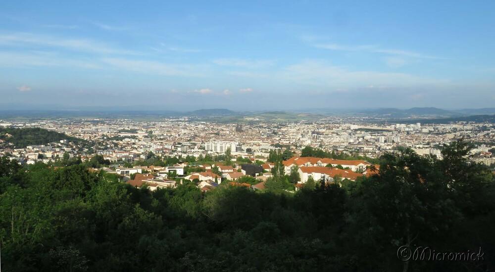 Panorama de Clermont-Ferrand