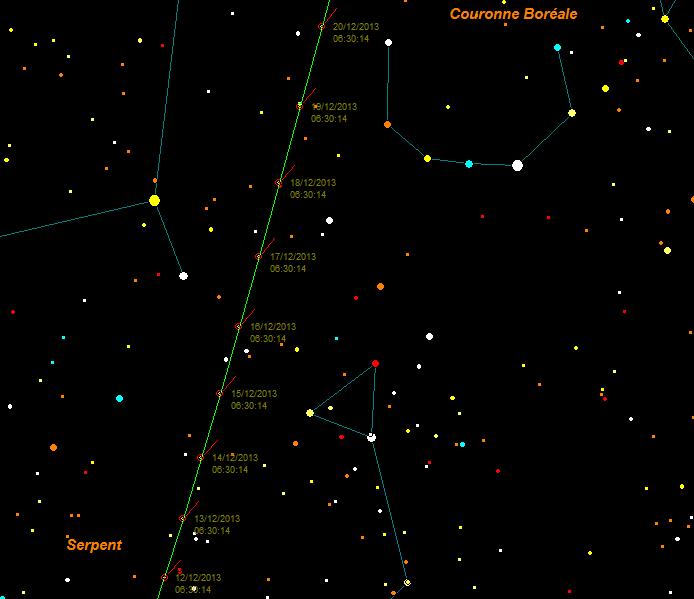 La comète ISON