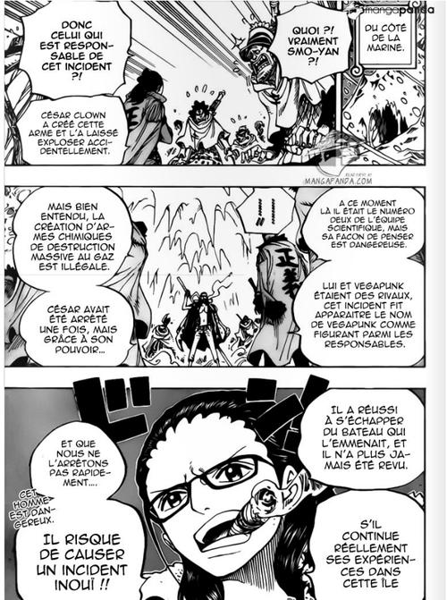 Hypothèse du chapitre 665 de One Piece