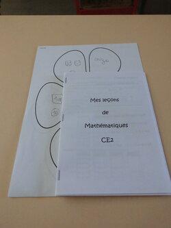 Le livret des leçons de maths des CE2.
